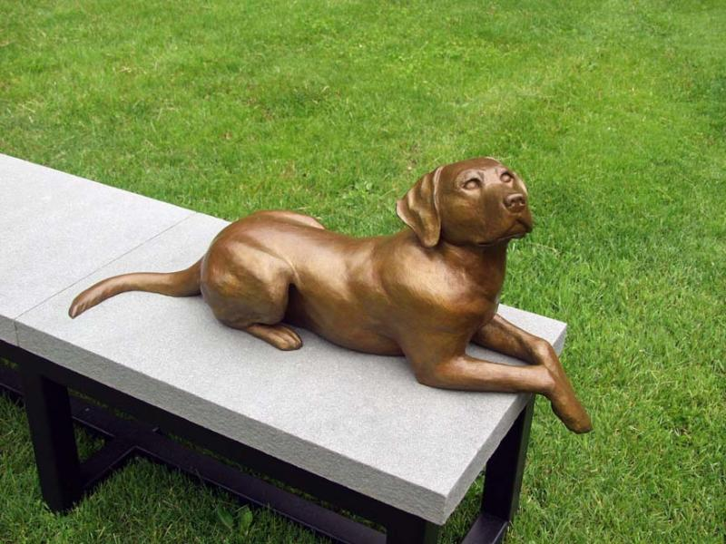 Daniel Murray Work In Bronze to Create His Unusual Characters