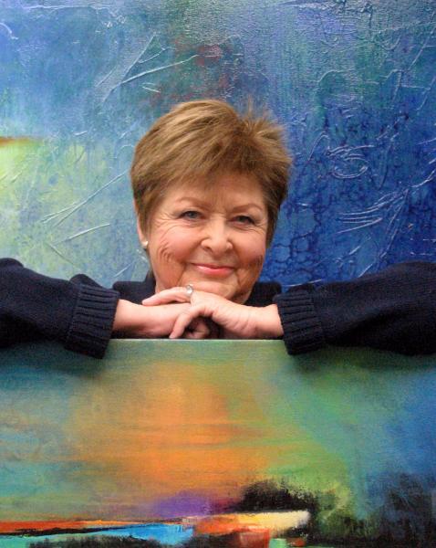 Karen Hale, An Abstract Artist Always Adding Attractive Areas