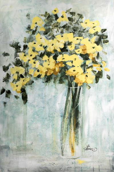 Terri Einer, Yellow Bouquet