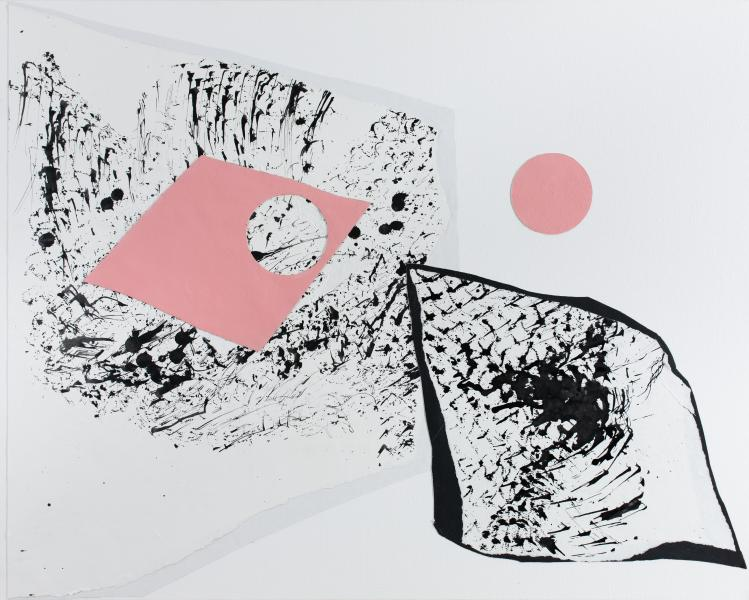 "Barbara Eskin, In Pieces 4 (""Systems Colliding"")"