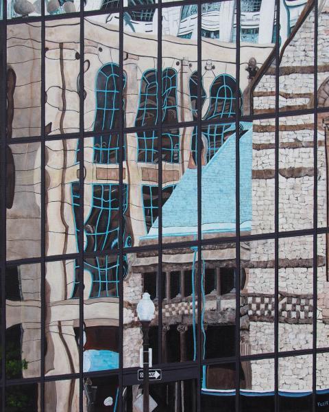 Steven Fleit, Boston Reflection Copley Square