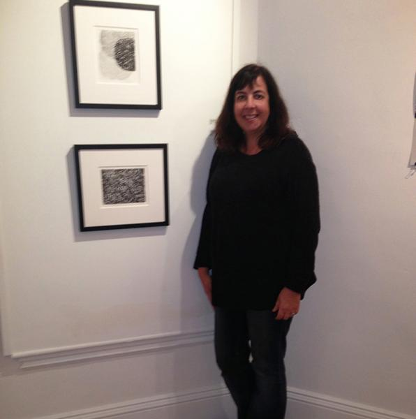Amy Kaufman is acclaimed for her unique painted monotypes and paintings