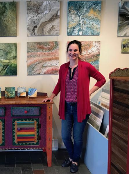 Ocllo Mason, Finds surprising beauty of what the painting turns out to be