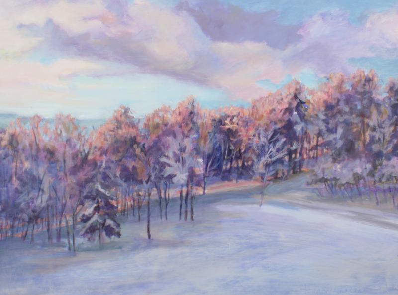 Jill Pottle, Warm Light in Cool Winter