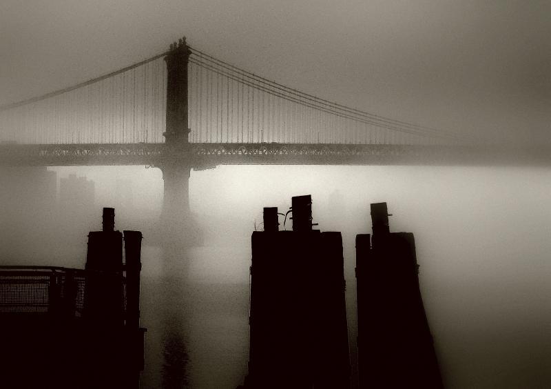 Jeffrey Watts, Manhattan Bridge Morning