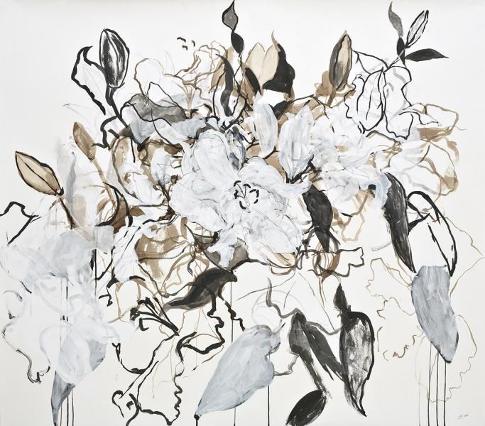 June Yokell, Lilies I